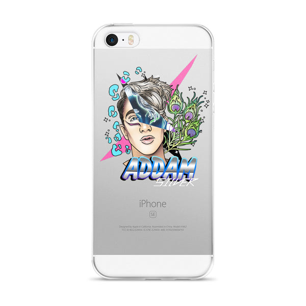 Addam Silver: 80's Freak iPhone 5/5s/Se, 6/6s, 6/6s Plus Case
