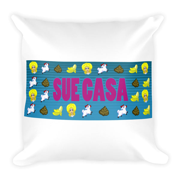 Sue Casa Square Pillow