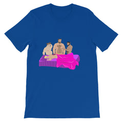 Goldie Locks and the 3 BEARS: Unisex short sleeve t-shirt