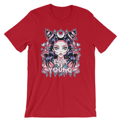 Eva Young: Anime Goddess Unisex short sleeve t-shirt