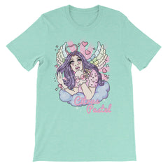 Citrus Pastel: Little Angel Unisex short sleeve t-shirt
