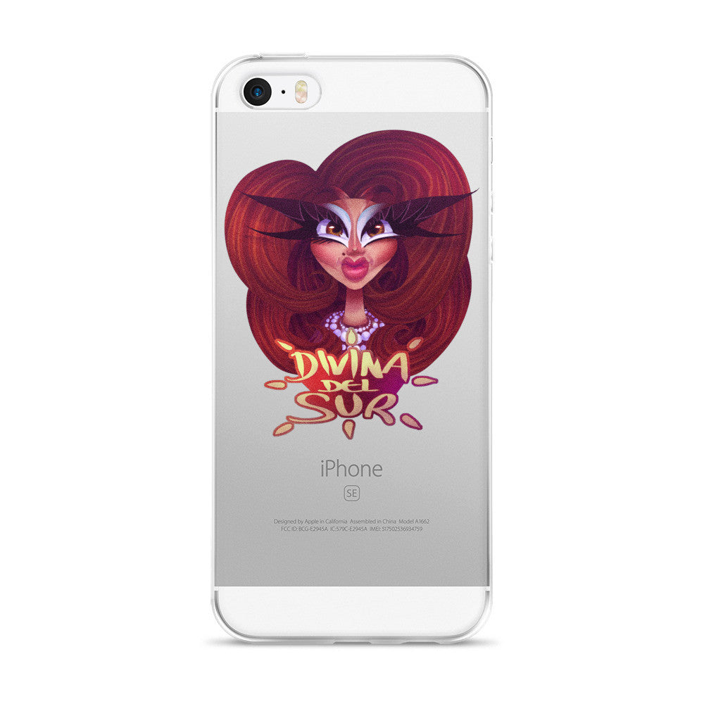 Divina Del Sur: Big Hair Don't Care iPhone 6/6s, 6/6s Plus Case
