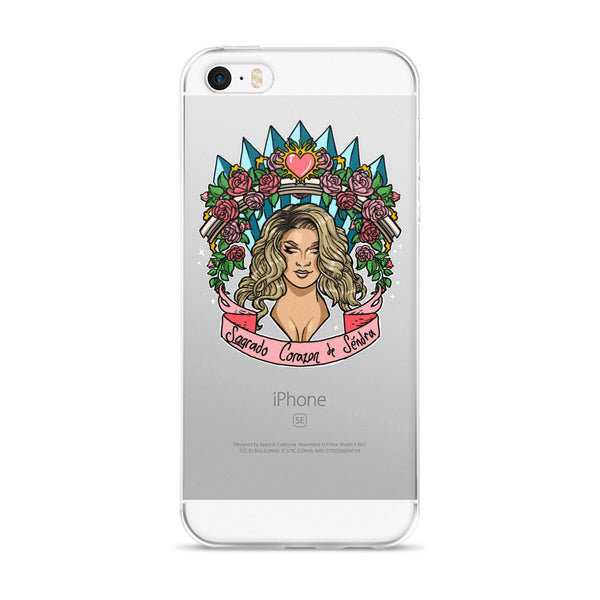 Séndra Rose: Immaculate Beauty iPhone 5/5s/Se, 6/6s, 6/6s Plus Case