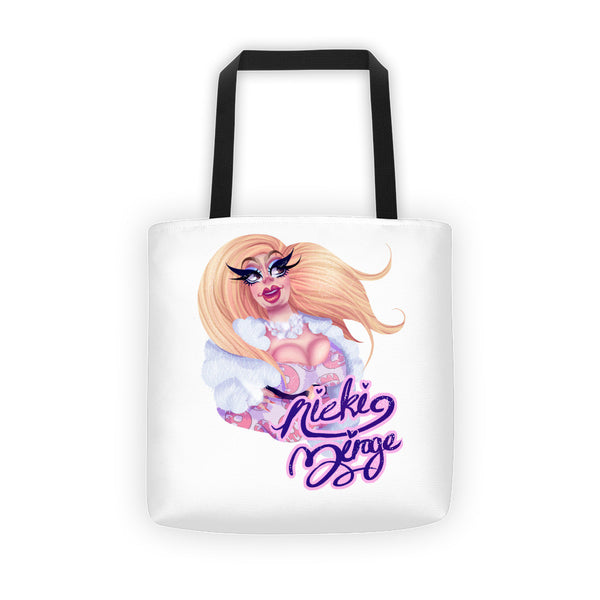 Nicki Mirage: Glazed Tote bag