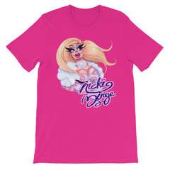 Nicki Mirage: Glazed Unisex short sleeve t-shirt
