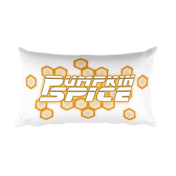 Pumpkin Spice: Back to the Beat Rectangular Pillow