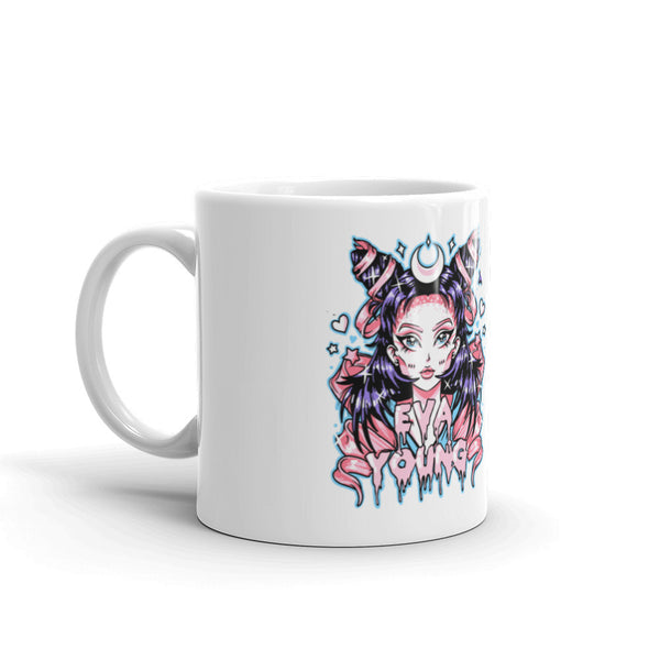 Eva Young: Anime Goddess Mug