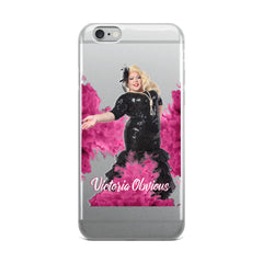 Victoria Obvious iPhone Case
