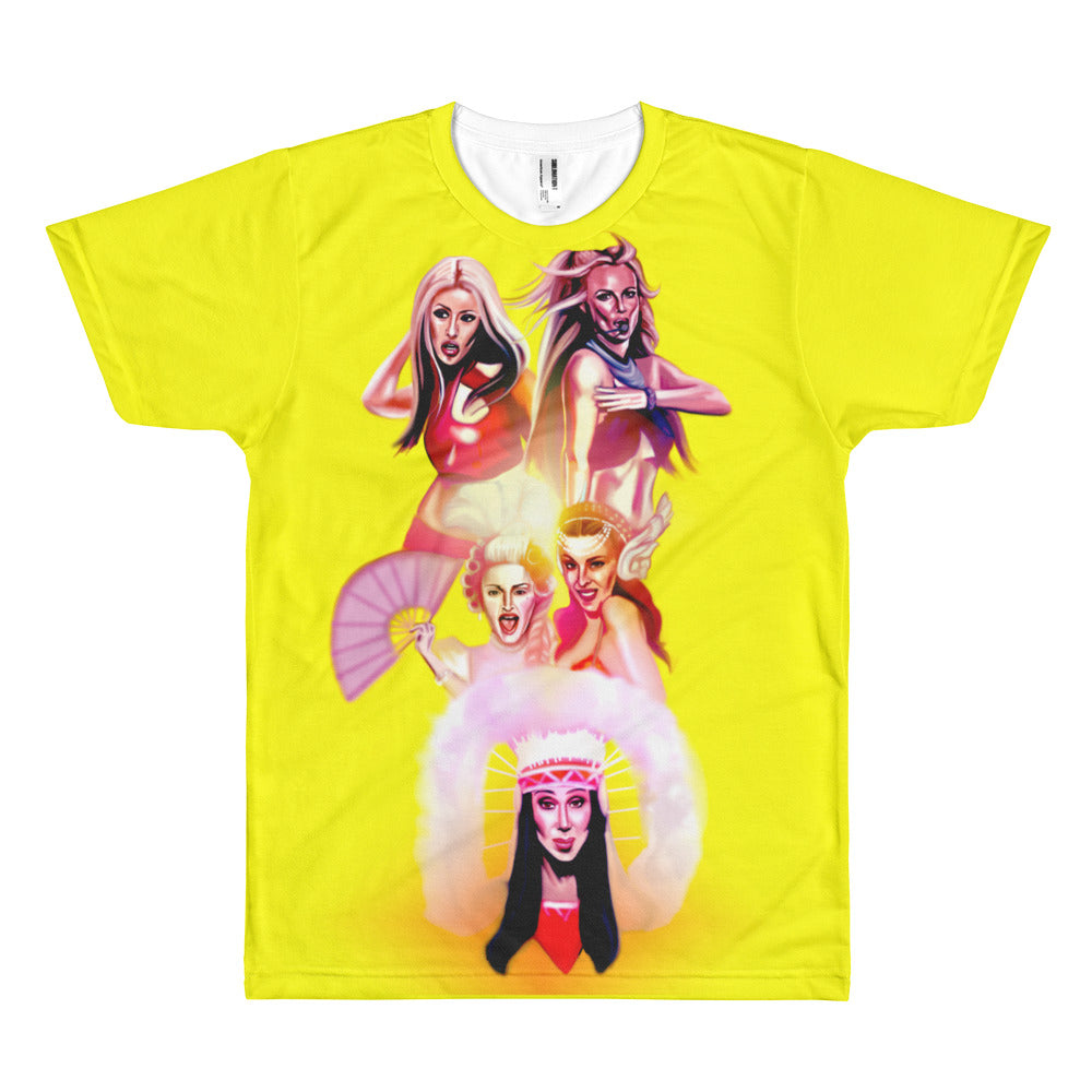 Pop Icons Sublimation T-Shirt
