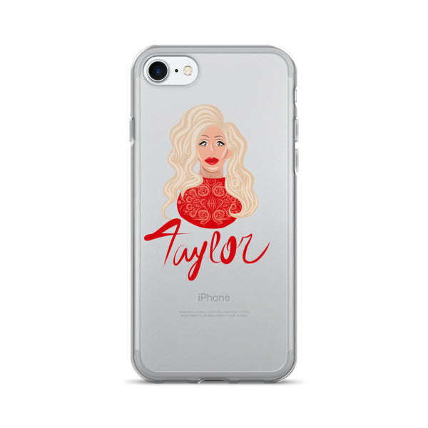 Taylor Madison Monroe: Lady in Red iPhone 7/7 Plus Case