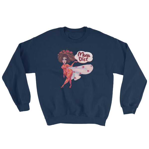 Mona Diet: Flower Power Sweatshirt