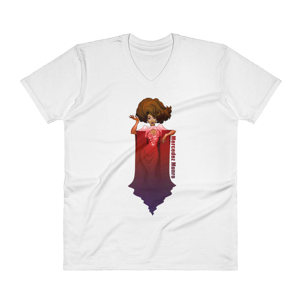 Mercedez Munro: Empire V-Neck T-Shirt