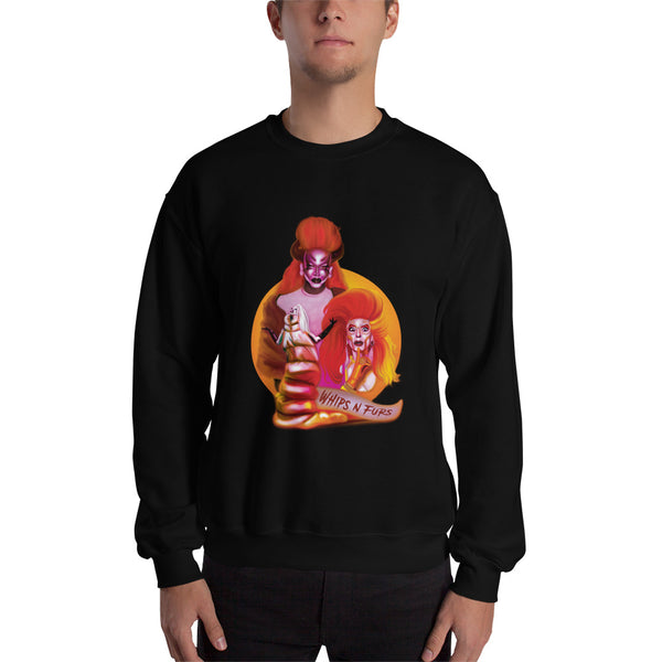 Vivvi The Force: Whips N Furs Sweatshirt
