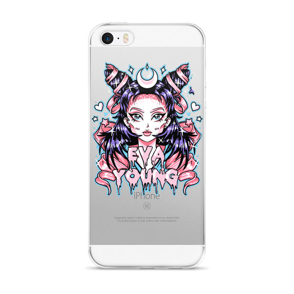 Eva Young: Anime Goddess iPhone 5/5s/Se, 6/6s, 6/6s Plus Case