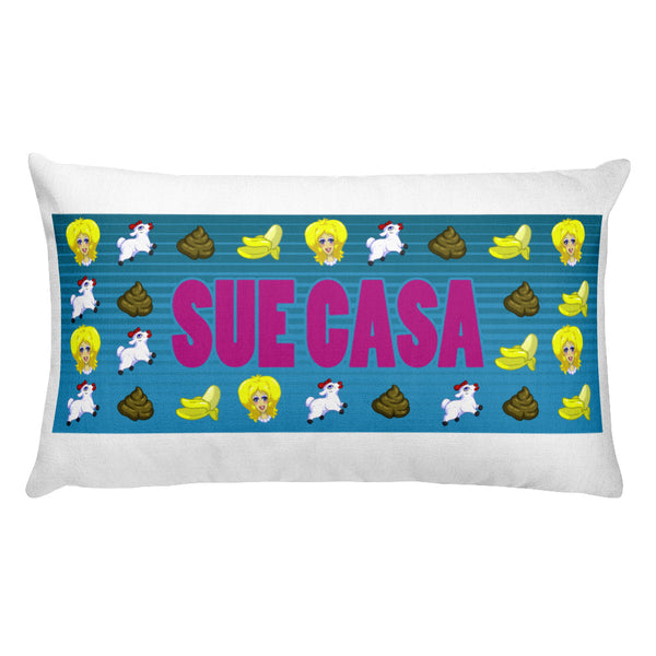 Sue Casa: Emoji Rectangular Pillow