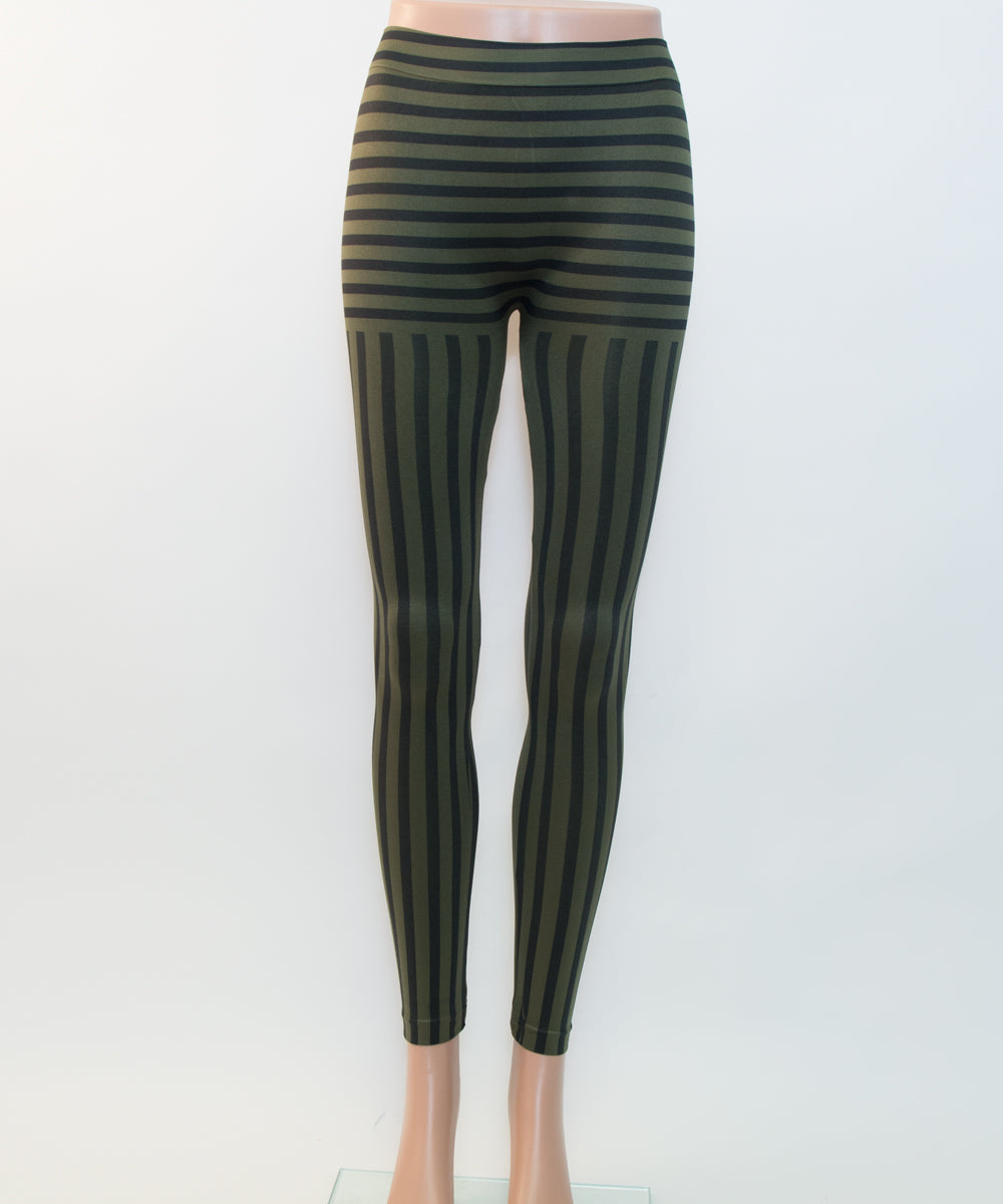 Striped Long Leggings