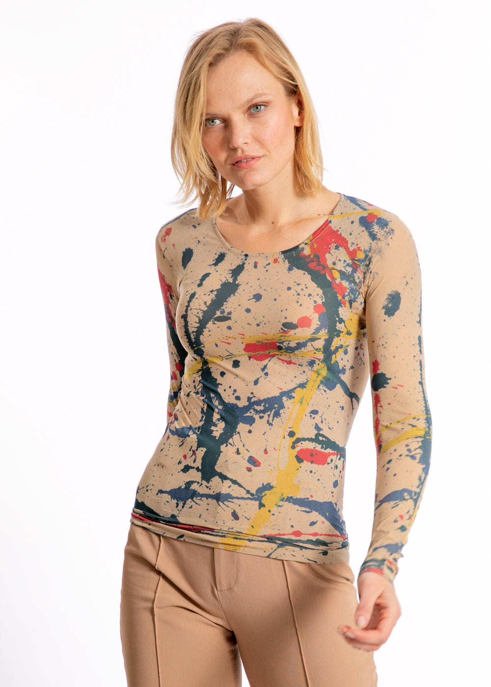 Pollock Second Skin Crew Neck Top