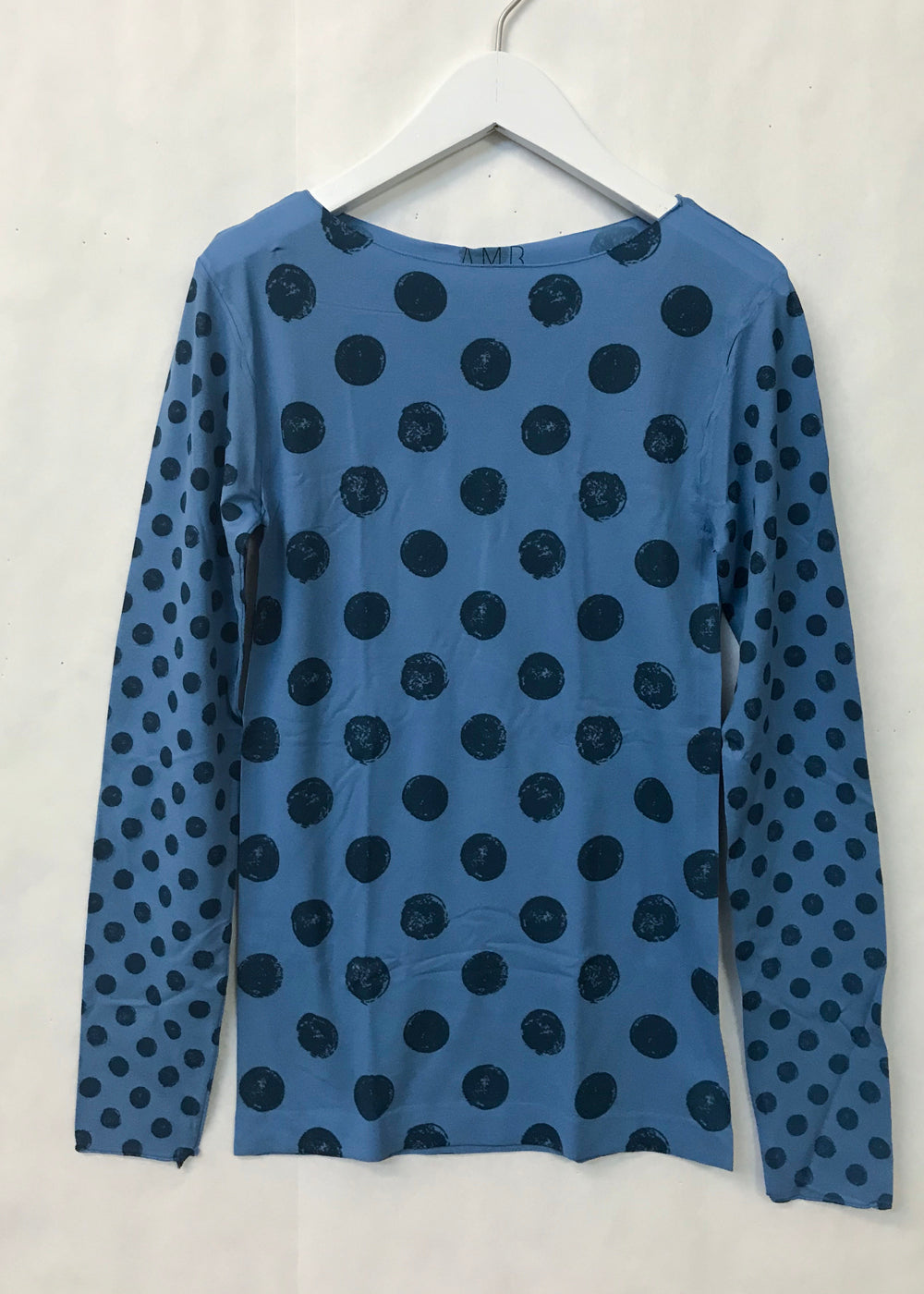Grunge Polka Dot Raw Edge Top - New Colors!