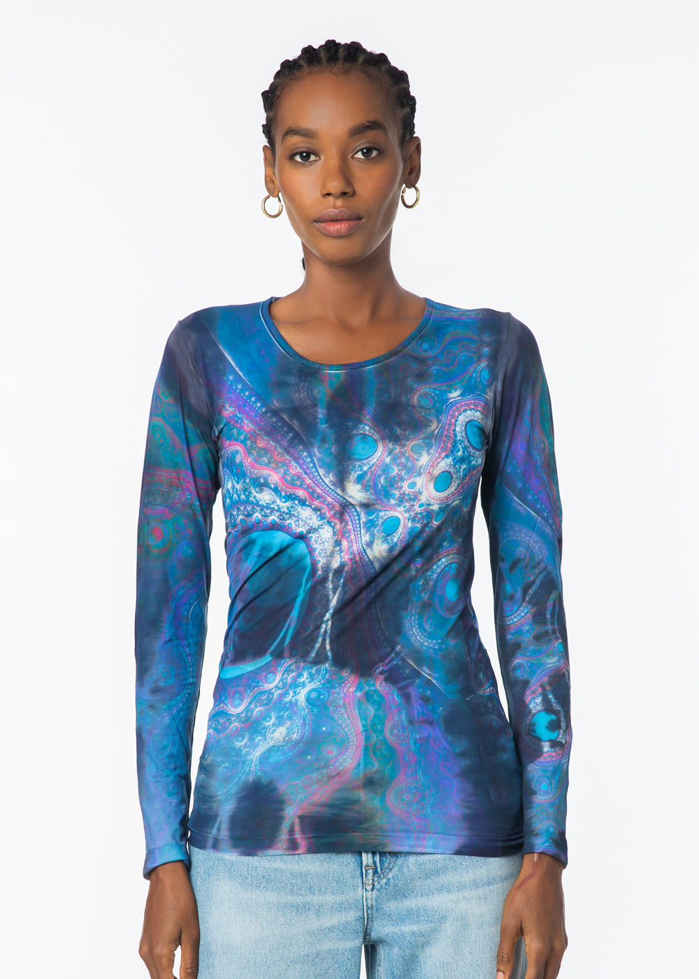 Astral Crew Neck Second Skin Top