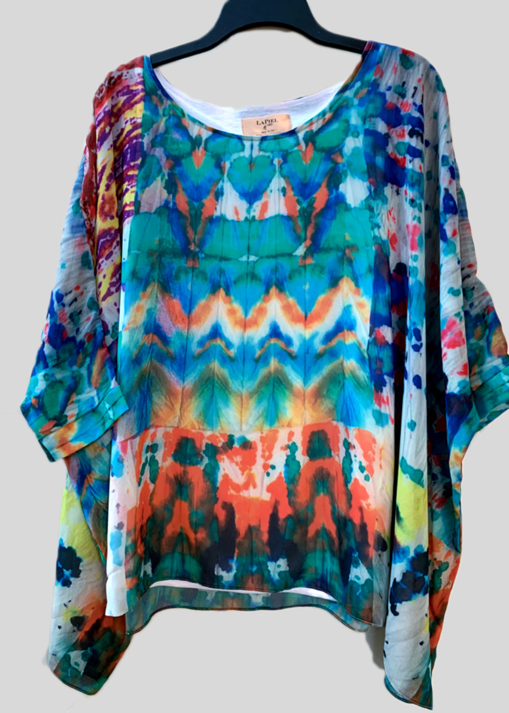 Capri Poncho Top in Batik