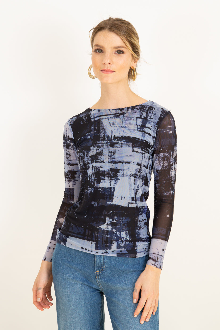 Blue Canvas - Florence Double Sheer Top