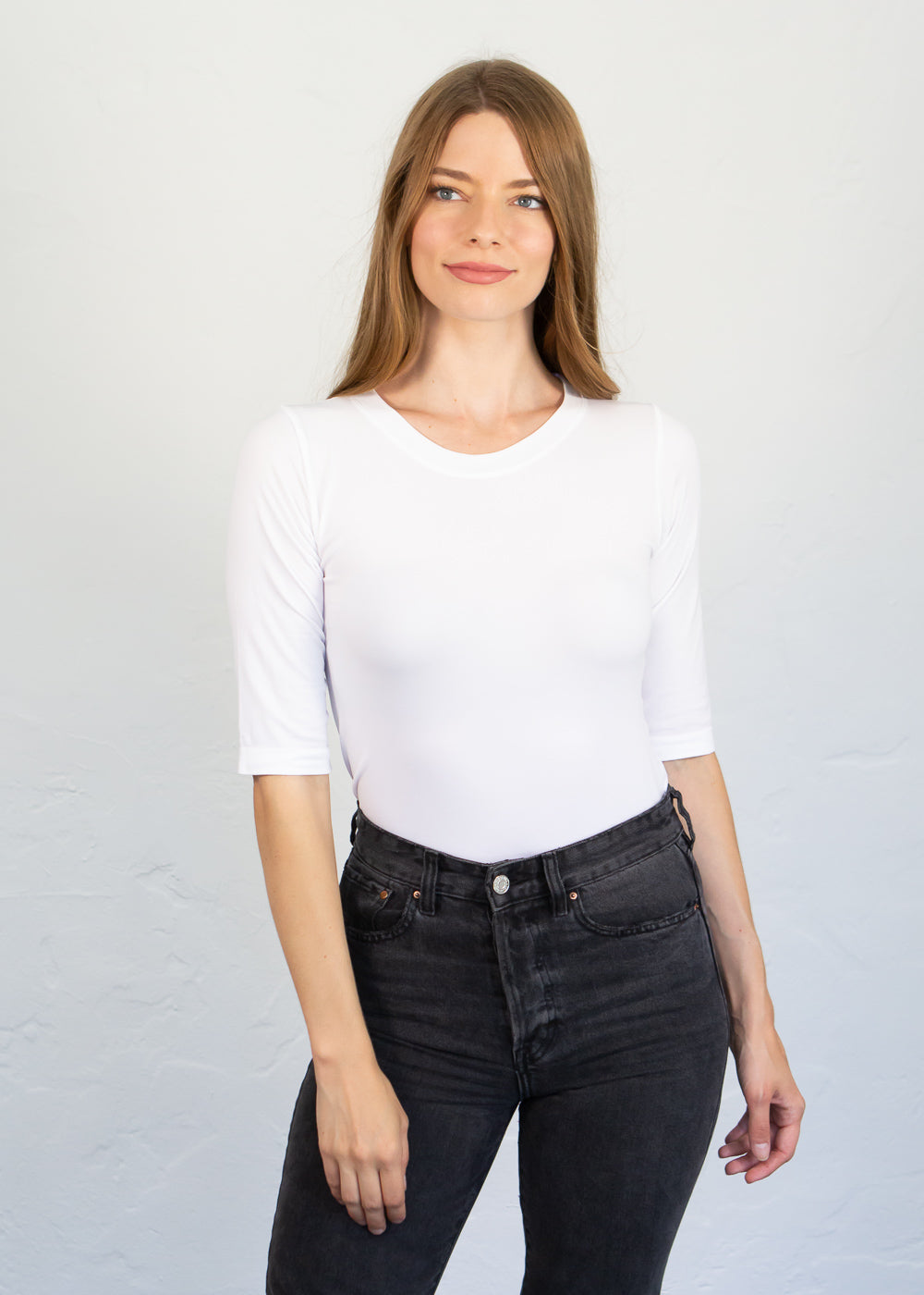Elbow Sleeve Top - Back in Stock!
