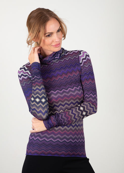 Happy Baby Zigzag - Barcelona Turtleneck Top