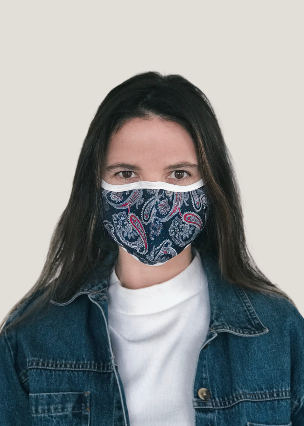 Printed Reusable Double Layer Mask