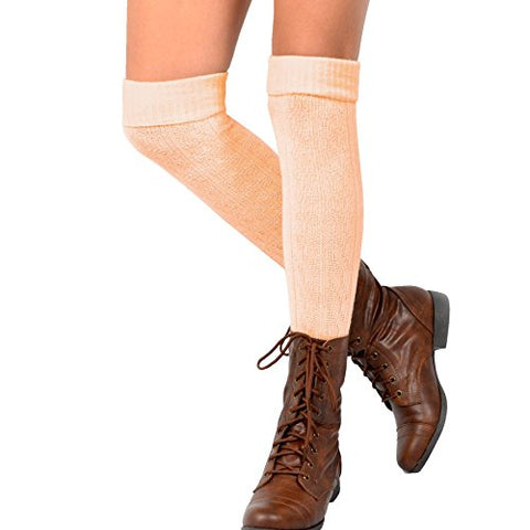 Women's Fashion Over the Knee High Socks - 3 Pair Combo