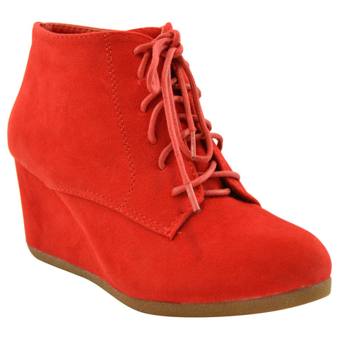 FOOTWEAR - Lace-up shoes Red(v) O7fArv8Z