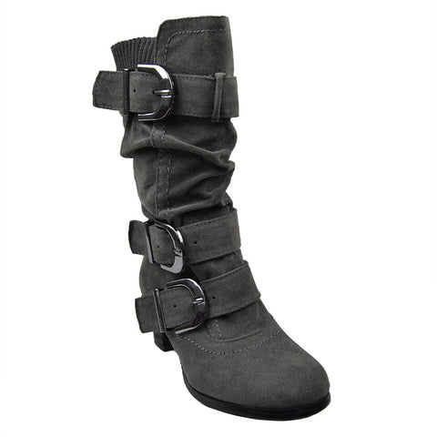 Girls' Ankle Mid Calf Knee High Boots