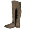 Womens Riding Over the Knee Boots Brown