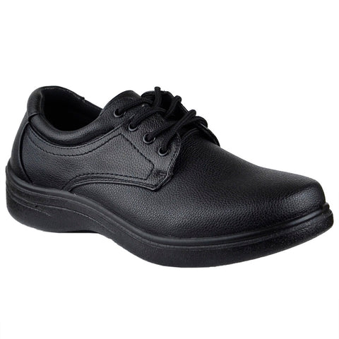 Mens Dress Shoes Lace Up Walking Casual Oxford Black