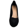 Womens Platform Shoes Closed Toe High Heel Stiletto Pumps black