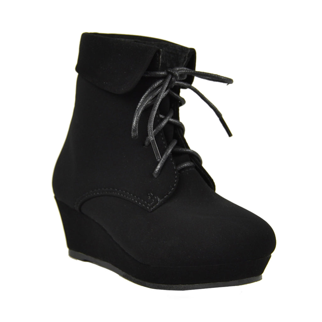 62b36e5826c Girls  Ankle Mid Calf Knee High Boots Winter Shoes At the Cheapest ...