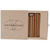 Wooden Case iPhone 6 Striped Bamboo Protective Hard Bumper Mix