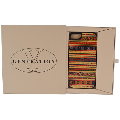 Wooden Case iPhone 6 Hard Bumper Colorful Tribal Pa Mix