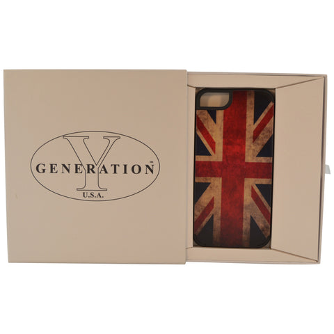Wooden Case iPhone 6 UK Flag Vintage Hard Bumper Co Mix