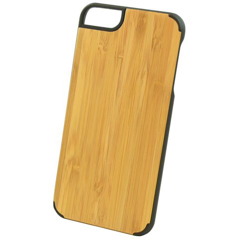Wooden Case iPhone 6 Plus Bamboo Protective Bumper Cover Beige Beige