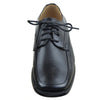 Boys Dress Shoes Tonal Stitching Lace Up Oxford Black