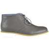Mens Casual Shoes Tonal Stitched Lace Up Chukka Gray