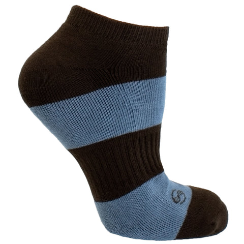 Men's Socks Solid Striped Athletic Perfomance Sport Comfortable No Show Hosiery Gray
