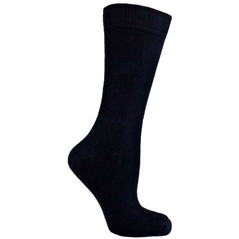 Men's Socks Athletic Sport Performance Durable Geometric Pattern Mid Calf Crew Socks Black
