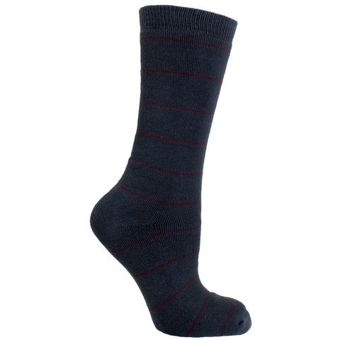 Men's Socks Striped Athletic Sport Comfortable Performance Mid Calf Crew Socks Gray