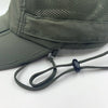 Men's Outdoor Snap Hats Fishing Hiking Boonie Hunting Brim Ear Neck Cover Sun Flap Cap Green SOBEYO