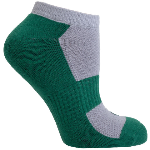 Women's Socks No Show Performance Comfortable Athletic Sport Durable Sock Green