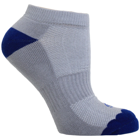 Women's Socks No Show Performance Flower Scalloped Athletic Comfortable Sock Blue