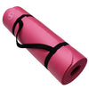 Yoga Mats 1/2-Inch Extra Thick /w Carrying Strap Pink