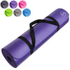 Yoga Mats 1/2-Inch Extra Thick /w Carrying Strap Purple