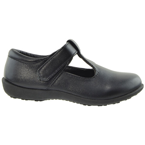 Kids Ballet Flats Casual Comfort Closed Toe Shoes Black